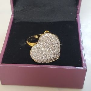 NIB Suzanne Somers Collection CZ Ring